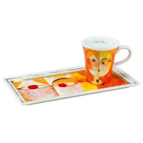"""Tasse Café Espresso Gourmand """"Sénécio"""" de Paul Klee"""