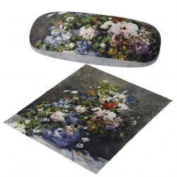 Etui à lunette «Fleurs de Printemps » Renoir par Artis Orbis