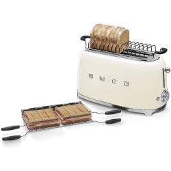 SMEG Grille pain Rétro électrique 2 fentes Collection Années 50
