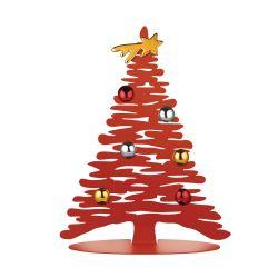 Bark for Christmas Alessi, Sapin en acier laqué rouge, 2 tailles