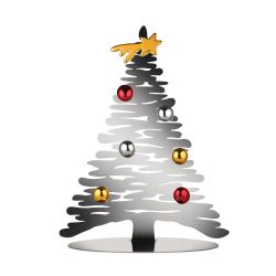 Bark for Christmas Alessi, Sapin en inox avec aimants, 2 tailles