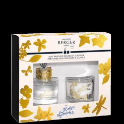 Coffret bouquet Parfumé + Bougie Transparent «Lolita Lempicka»