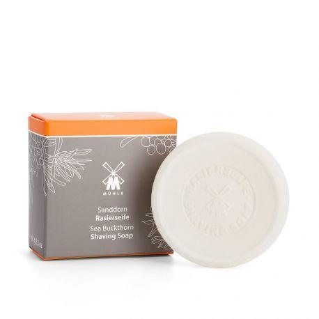 Mühle Recharge de savon à raser à l'argousier, savon naturel 65g