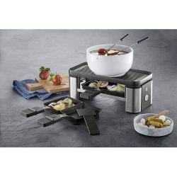 KITCHENminis WMF Appareil à Raclette, Plancha, Grill pour 2 personnes