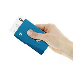 ÖGON - Porte-cartes de visite en aluminium léger et innovant