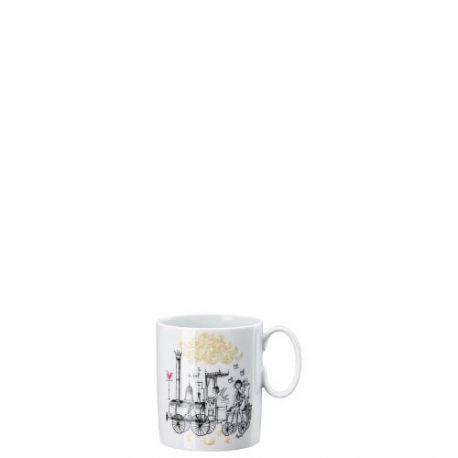 Rosenthal, Peynet collections Mug avec anse 30cl «le Train»