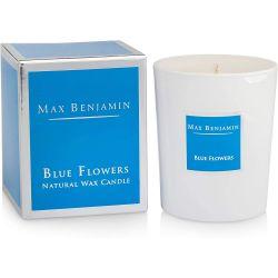 Max Benjamin bougie parfumée Blue Flower naturelle 40h