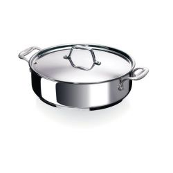 BEKA Chef: Sauteuse 2 anses en inox, 28 cm, 5L induction