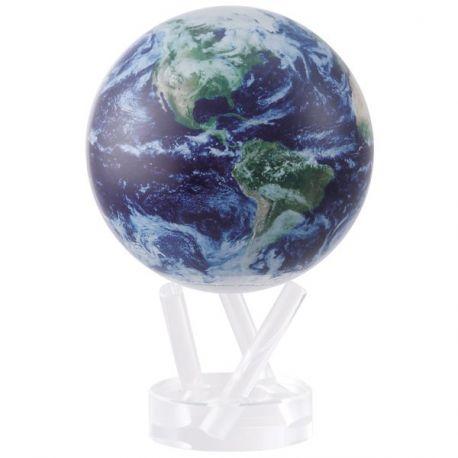 """Mova Globes : Planète Terre avec nuages 4,5"""""""