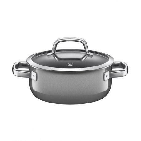 Fusiontec – Faitout en acier et revêtement naturel 24 cm