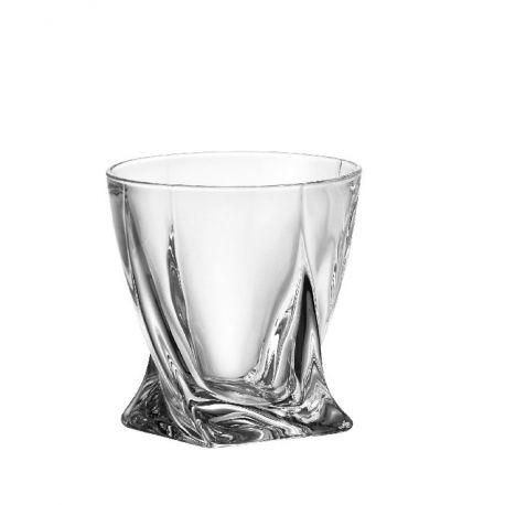 Quadro - 6 verres à whisky - Bohemia Crystal