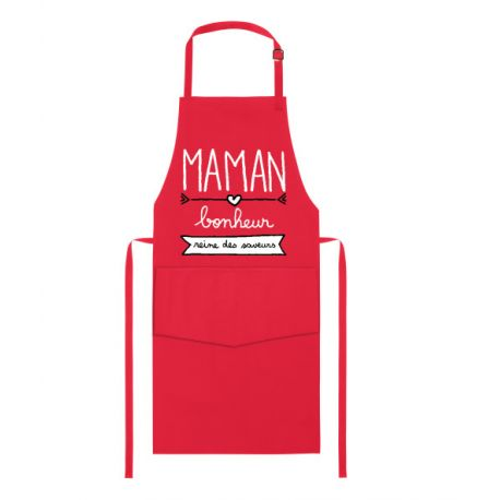 Maman Bonheur , Tablier cuisine Cumin 100% coton
