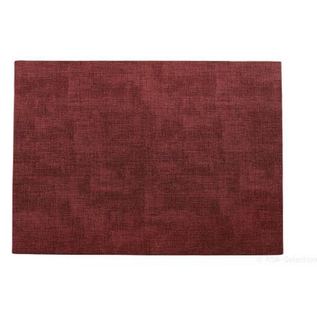 Meli Melo, Set de table rouge foncé , 33x46 cm