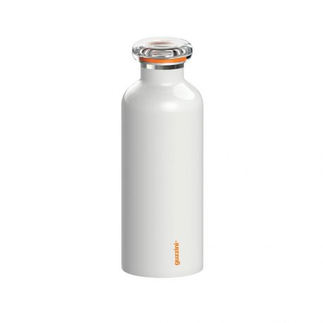 On The Go, Bouteille isotherme, coloris blanc, 33, 50 ou 75 cl