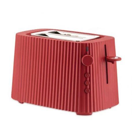 Plissé, Grille-Pain électrique rouge Design Michele De Lucchi