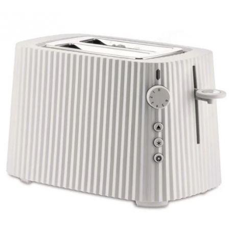 Plissé, Grille-Pain électrique blanc Design Michele De Lucchi