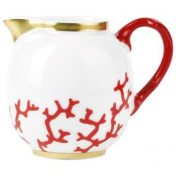 Cristobal Rouge - Raynaud - Crémier Porcelaine de Limoges