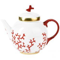Cristobal Rouge - Raynaud - Théière 1 L Porcelaine de Limoges