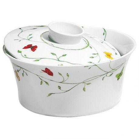 Histoire Naturelle - Raynaud - Légumier et couvercle porcelaine