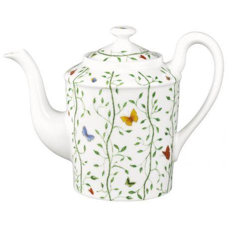 Histoire Naturelle - Raynaud - Verseuse 6 tasses porcelaine