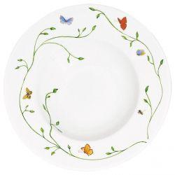 Histoire Naturelle - Raynaud - Assiette creuse 21 cm porcelaine