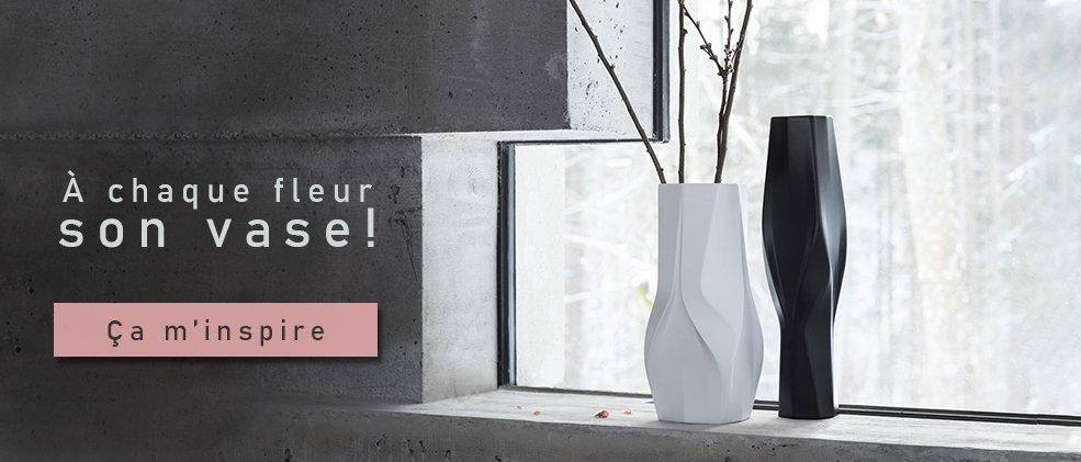 vase design soliflore déco